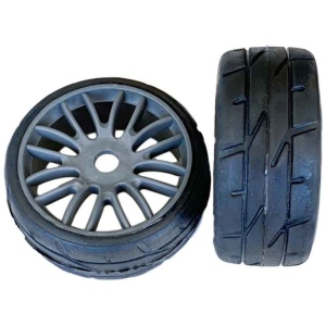 PMT GT Komplettrad RALLY18 SuperSoft Q1 (1 Paar) gr