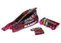 Karosserie Bandit Hawaiian, lackiert + Decals