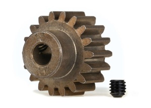 Gear, 18-T pinion (1.0 metric pitch) (fits 5mm shaft)/ set s